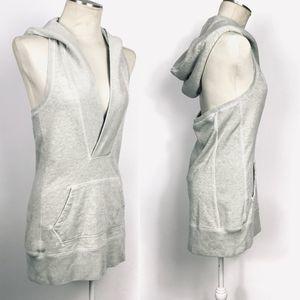 🍎 Ralph Lauren Backless Hoodie Sweater Dress M